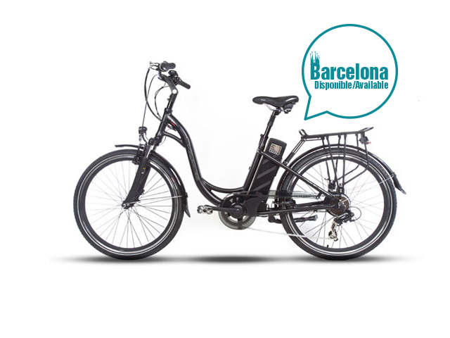 electric bicycle in barcelona
